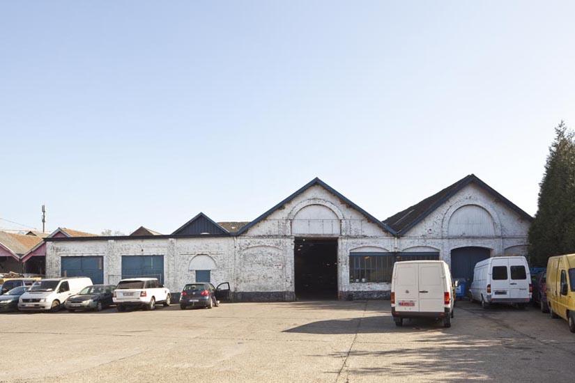 <font color=black>Godin fabrieken Laken </font> <br> i.o.v Koninklijke Commissie voor Monumenten en Landschappen