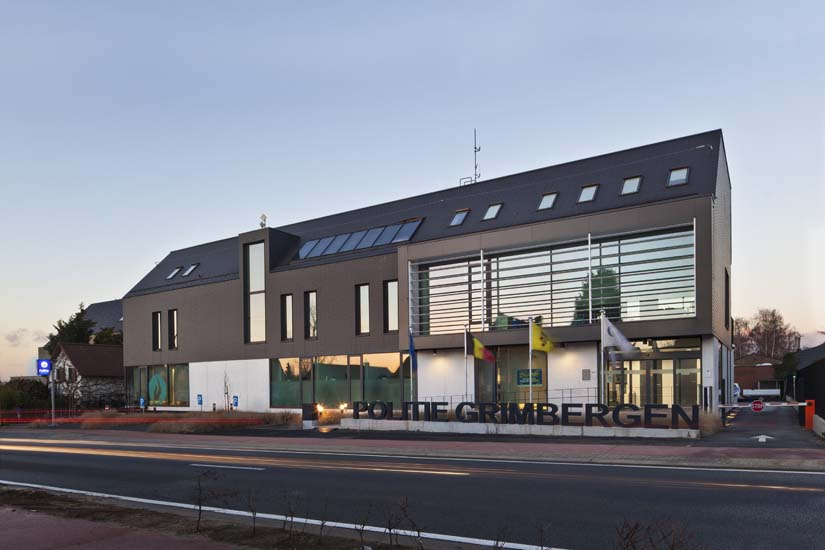 <font color=black>Politie Grimbergen</font> <br>i.o.v. G&G Architecten te Grimbergen